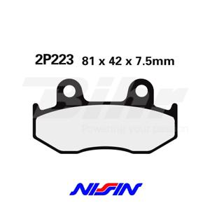 NISSIN-2P223GS-ALMOHADILLAS-PAR-DELANTEROS-HONDA-ATC-350-X-1985