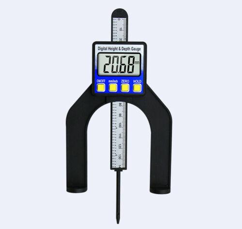 Small Measuring Tool LCD Digital Height Depth Gauge Caliper 0-80mm Measurement