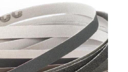 Replacement Fret Dressing Crowning Sanding Belt Kit#4 w/6 belts 1/ea 120-600 Grt