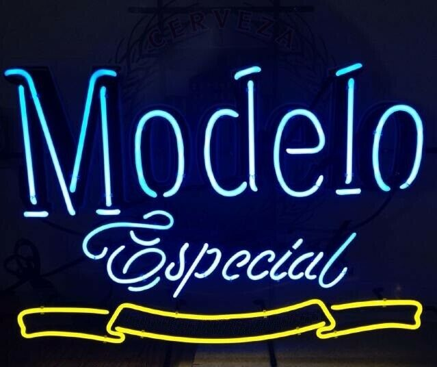 "Modelo Especial 1925 17\""x14\"" Neon Sign Lamp Light Beer Bar"