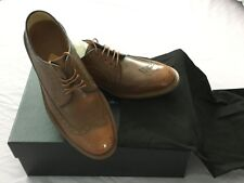 PAUL SMITH  Lincoln Tan Brogues SHOES SIZE 6.5uk