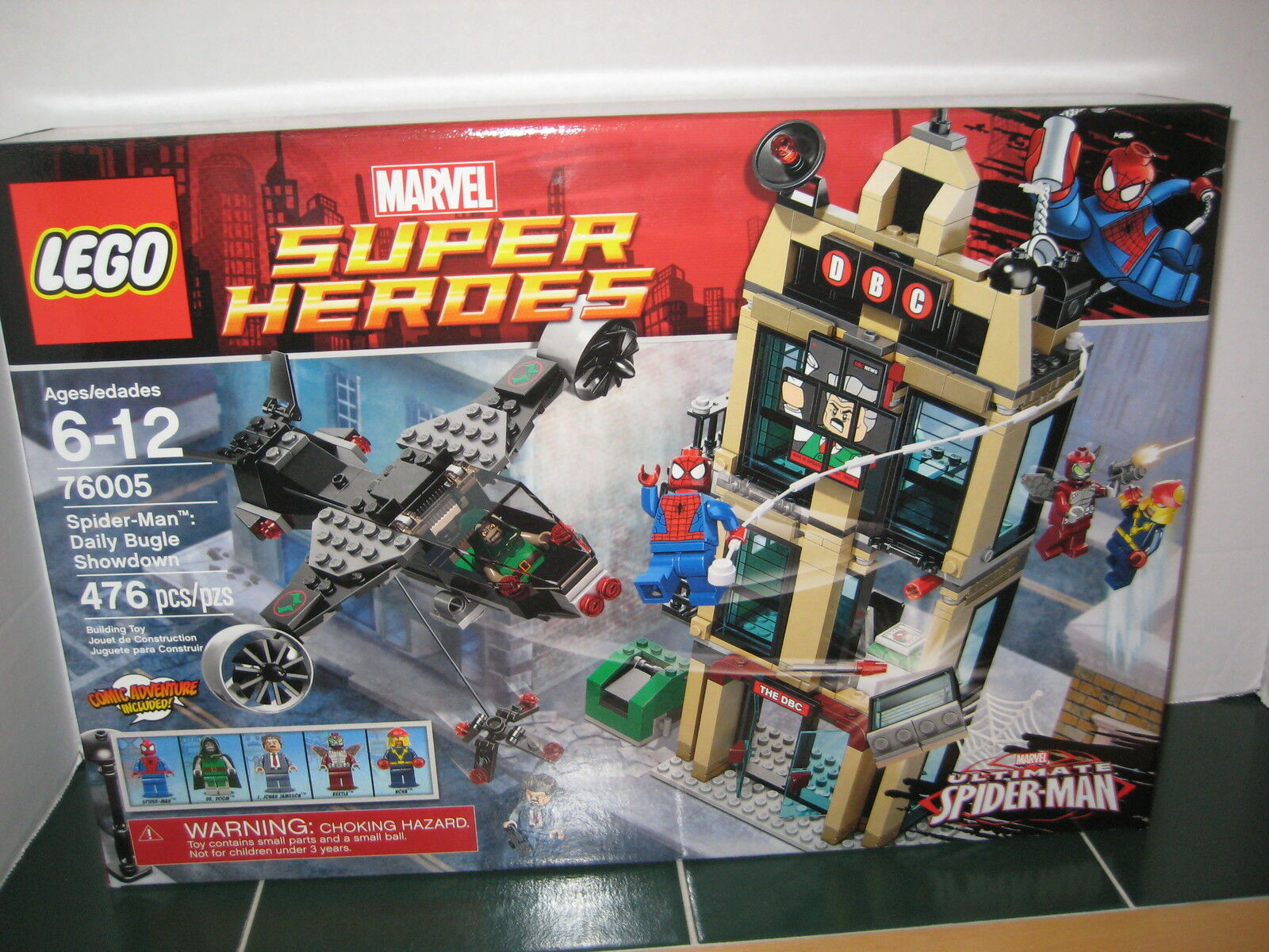 LEGO SPIDER-homme Daily Bugle Showdown  76005  Marvel Super Heroes  mode classique