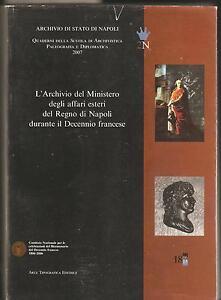 Caricamento dell immagine in corso ARCHIVIO -MINISTERO-DEGLI-AFFARI-ESTERI-DEL-REGNO-DI- 944d034af5fd