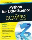 Python for Data Science For Dummies by Zanab Hussain, Luca Massaron, John Paul Mueller (Paperback, 2015)