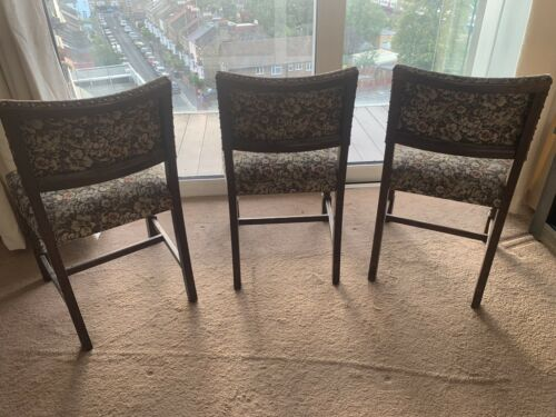 3 X Vintage Antique Looking Chairs