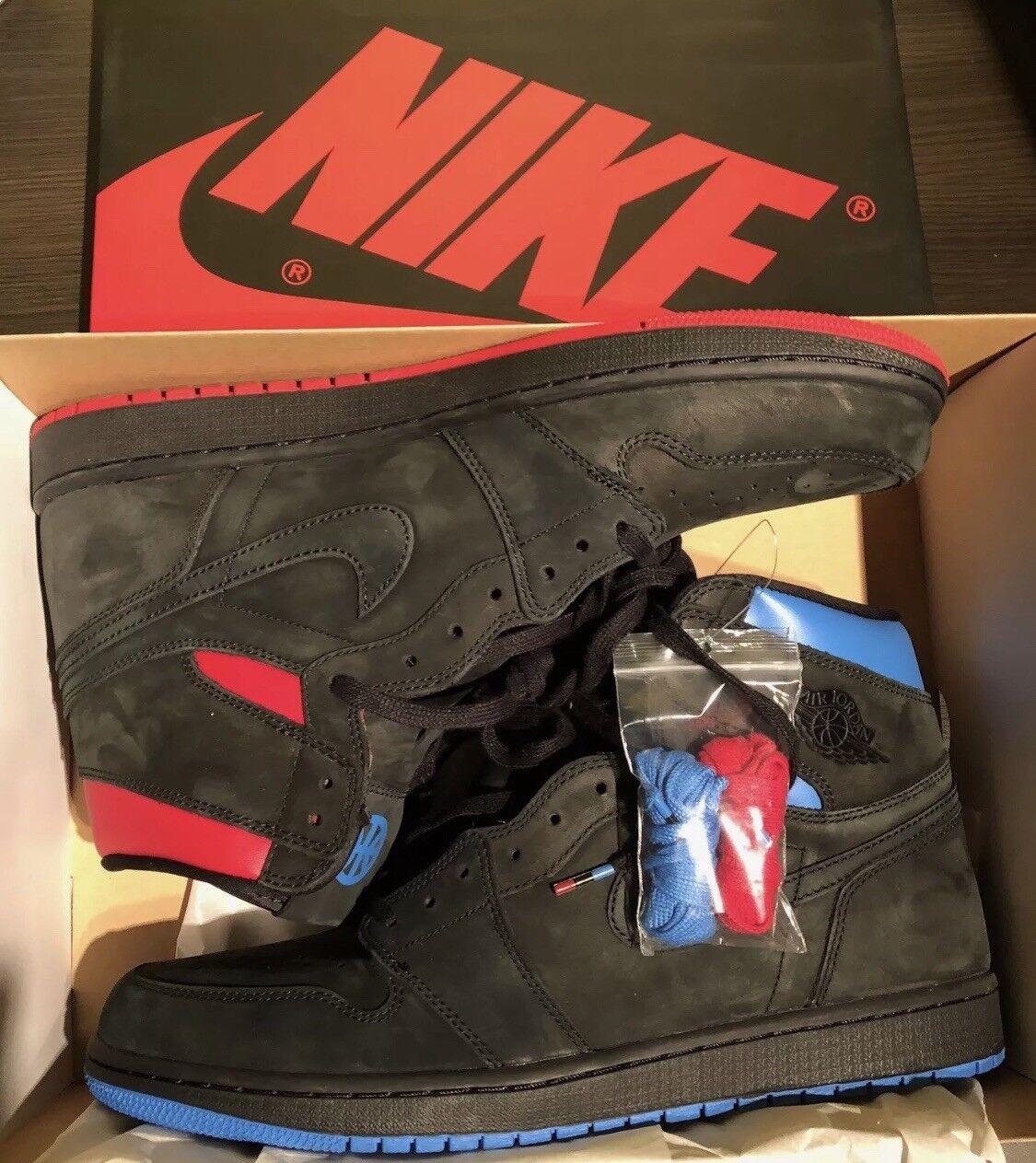 info for 95df9 53ace Nike Pour Homme Baskets Taille Taille Taille 12 Nike Air Jordan 1 Rétro  Haut OG Q54 5e9c8c