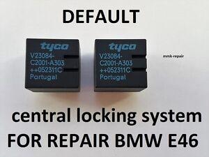 TYCO Relais V23084-C2001-A303 f BMW Grundmodul GM5 Reparatur ZV E46 X3 Z8
