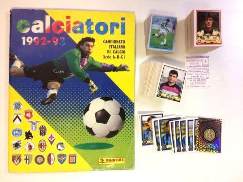 186 JUVENTUS -New VIALLI CALCIATORI PANINI 1992-93 Figurina-Sticker n