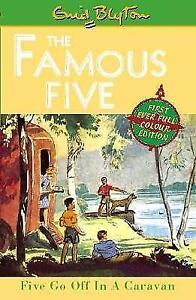 Five-Go-Off-In-A-Caravan-Book-5-Famous-Five-by-Blyton-Enid-Good-Used-Book