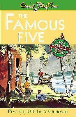 Five Go Off In A Caravan: Book 5 (Famous Five) by Blyton, Enid, Good Used Book (