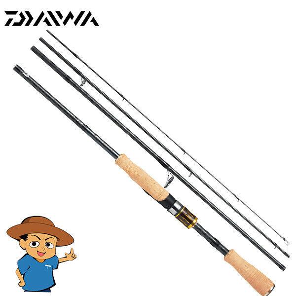 Daiwa airojoge móvil 644UL LS Ultra Ligero Bass para Pesca Spinning Rod 2019 Modelo