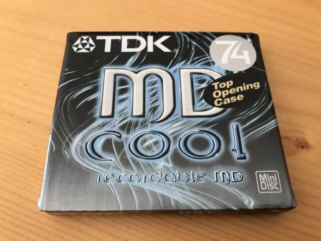 TDK Recordable MiniDisc MD-C74SEB