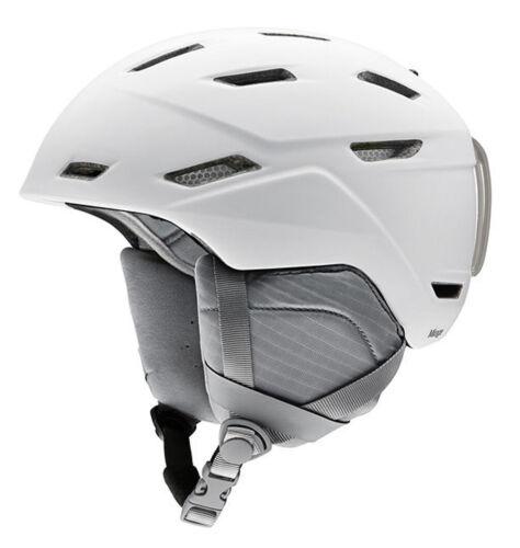 2020 Smith Optics Mirage Matte White Women/'s Ski Snowboard Helmet LARGE