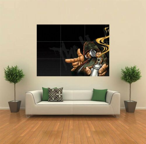 GRAFFITI SPRAY PAINT  NEW GIANT POSTER WALL ART PRINT PICTURE X1348