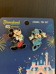 Funko Loungefly Disneyland 65th Mickey And Friends- Minnie- 2 Piece Pin Set