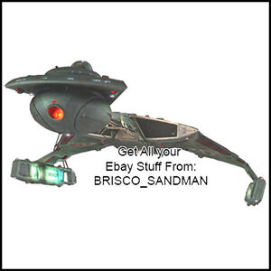 Fridge-Fun-Refrigerator-Magnet-STAR-TREK-SHIP-Klingon-D4-Battlecruiser-A-Diecut