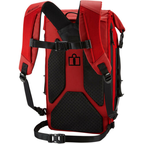 2018 Icon Dreadnaught Water Resistant Motorcycle Riding Backpack Pick Color