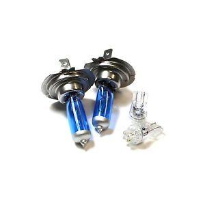 55w ICE Blue Xenon HID Low//Slux LED Upgrade Side Light Headlight Beam Bulbs