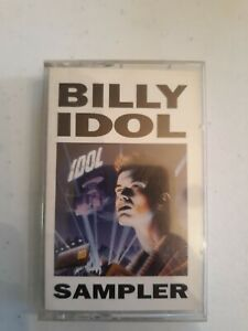 Lot-Of-4-Billy-Idol-Cassette-tapes-80s-rock-vintage