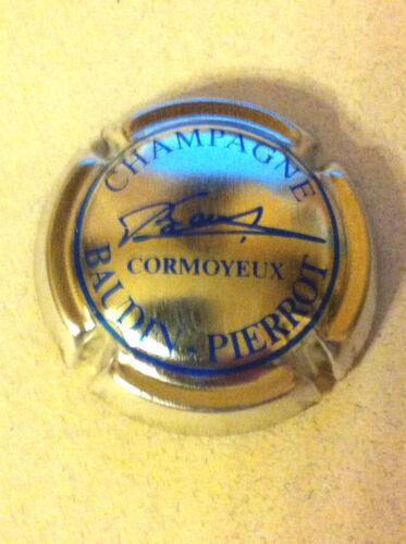 8. métal et bleu plus vif Capsule de Champagne BAUDIN-PIERROT