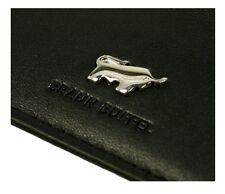 BRAUN BUFFEL Leather Black Calf Card Holder (retail £75)