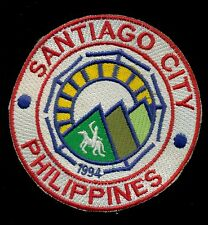 Santiago City Philippine Philippines National Police Patch RP-2