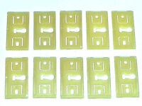 69-72 Ford Lincoln Mercury Body Rocker Molding Moulding Trim Clips 10pcs Bb
