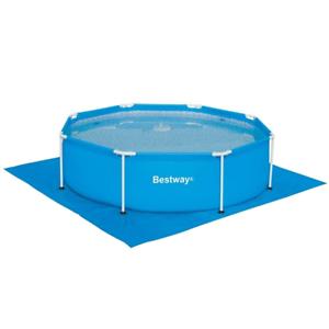 Bestway Pool Bodenplane 335x335cm Bodenschutzplane Unterlegeplane Bodenschutz