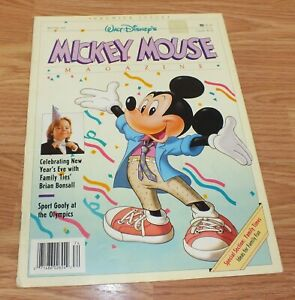Vintage-Winter-1988-Walt-Disney-World-Family-Times-Mickey-Mouse-Magazine