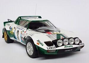 Sunstar 1/18 Scale - 4566 Lancia Stratos HF Rally 1975 Safari Rally #3 Model Car