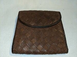 Vintage-Wallet-Handwoven-Leather-Brown
