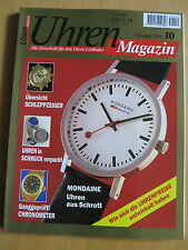 Uhren-Magazin Nr. 10 1995 - Uhren Zeitschrift, Uhrenheft, Magazin