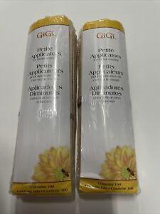 Petite Applicators for Facial Waxing  100 ct (Pack of 2)