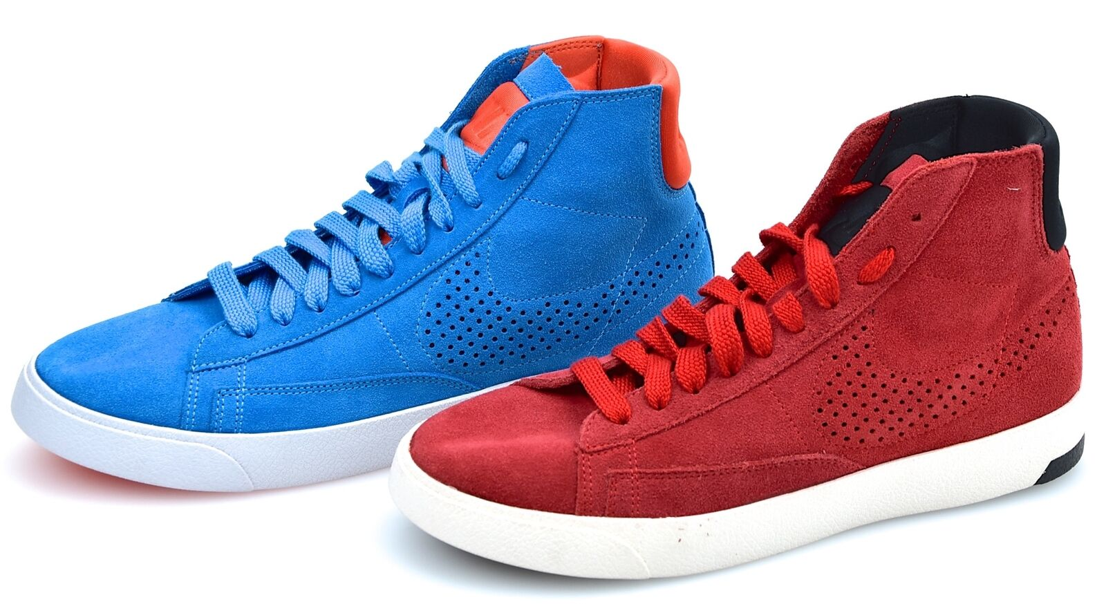 NIKE MAN SNEAKER SHOES CASUAL FREE TIME SUEDE CODE BLAZER LUX 599464 400 - 600