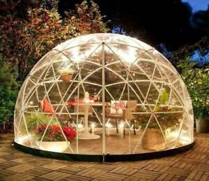 Details about Outdoor Bubble Tent Garden Igloo Plant Geodesic Dome Walk In  Gazebo Greenhouse