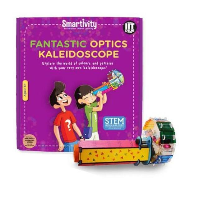 Smartivity Fantastic Optics Kaleidoscope Age 6+ Science Kit DIY