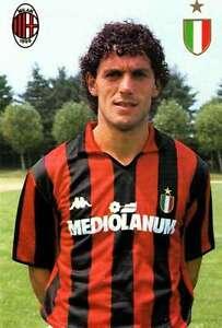 Ac-Milan-Cartolina-Ufficiale-1988-89-Donadoni-Roberto-Nuovissima