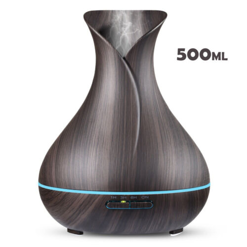 LED Ultrasonic Essential Oil Aroma Diffuser Aromatherapy Air Humidifier Purifier