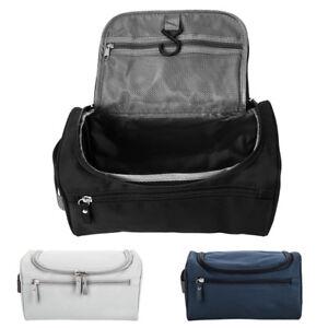 b04cf04fbcb0 Travel Wash Bag Men Womens Toiletry Organizer Shaving Cosmetic Case ...