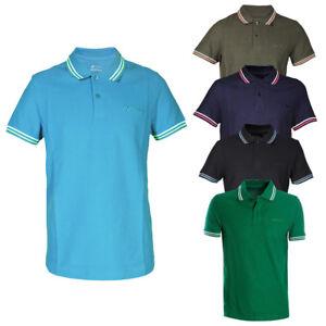 Polo-Uomo-LOTTO-Sport-Cotone-Colletto-Righe-Maniche-Corte-T-Shirt-Vari-Colori