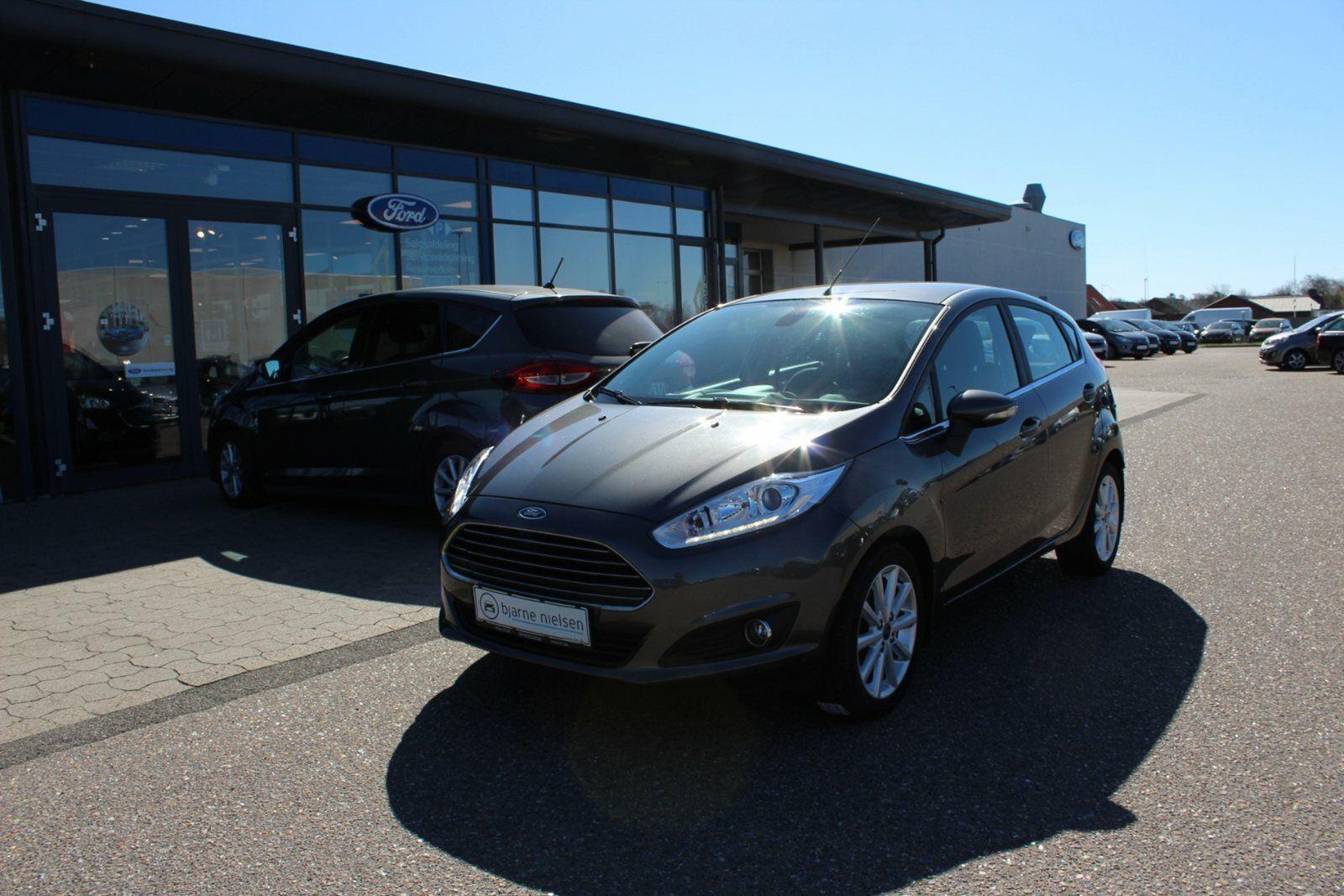 Ford Fiesta 1,0 SCTi 125 Titanium 5d - 129.900 kr.