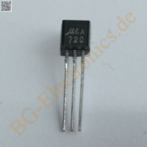 10 x 2SA720 PNP Transistor for low-frequency power ampl Micro Ele TO-92 10pcs