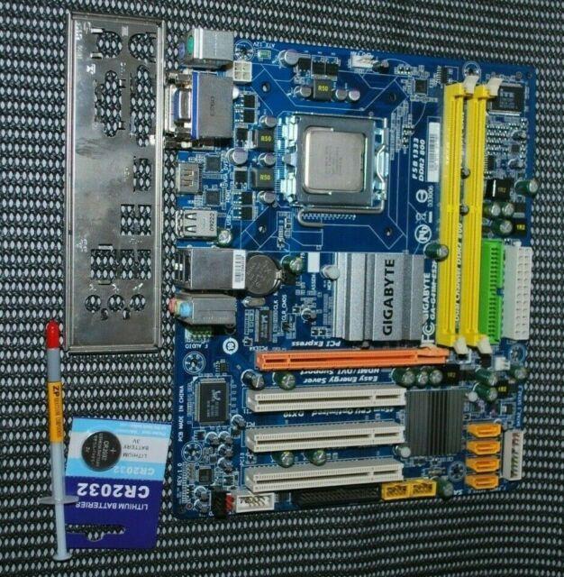 Gigabyte GA-G41M-ES2H Socket LGA775 motherboard + E8200 CPU