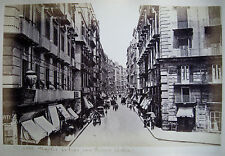 PHOTO ORIGINALE de NAPLES 19ème siècle. Napoli 19° SECOLO foto originale