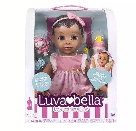 2017 exclusivo Vendido Caliente Niña Bebe Muñeco luvabella en mano listo para enviar