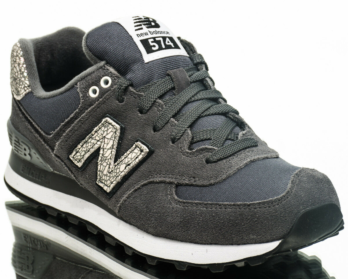 New Balance WMNS 574 NB women lifestyle casual sneakers NEW grey white WL574-CID