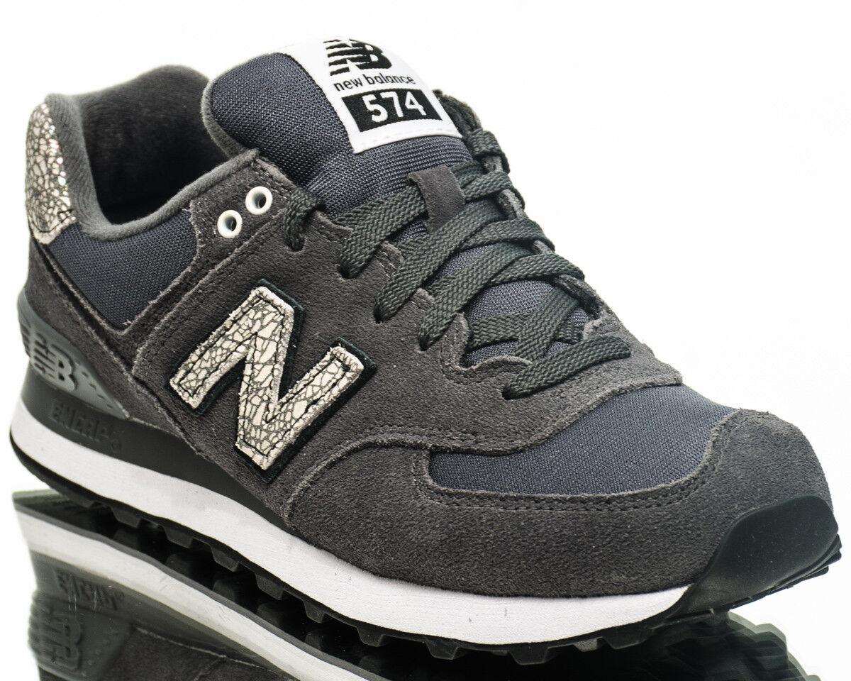 New Balance WMNS 574 NB donna lifestyle casual scarpe scarpe scarpe da ginnastica grigio bianca WL574-CID 30369f