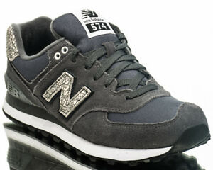 nouveaux styles b0448 8ba44 New Balance WMNS 574 NB women lifestyle casual sneakers grey ...