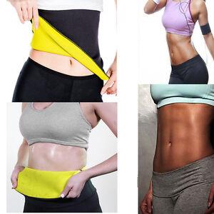 80a4df32004 Tummy Slimming Belt Thermo Sweat Neoprene Body Shaper Waist Trimmer ...