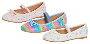 Girls Gorgeous Mary jayne Patent Ribbon Shoes Sizes 8-2 ⭐